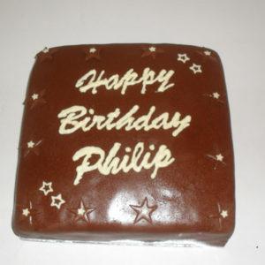 chocolate stars cake