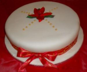 season greetings cake