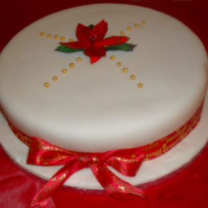 season greetings cake