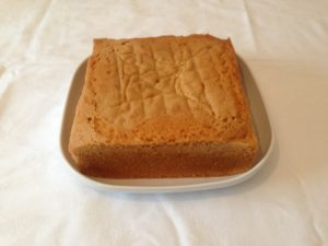 Square Sponge Cake